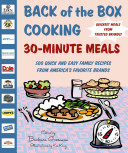 Back Of The Box Cooking 30 Minute Meals