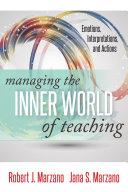 Managing the Inner World of Teaching