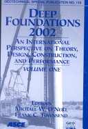 Deep Foundations 2002