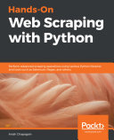 Hands On Web Scraping with Python