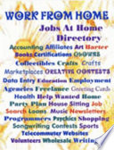 Work from Home Jobs Directory