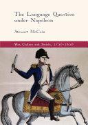 Pdf The Language Question under Napoleon Telecharger