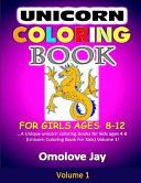 Unicorn Coloring Book for Girls Ages 8 12