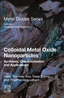 Colloidal Metal Oxide Nanoparticles