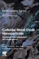 Colloidal Metal Oxide Nanoparticles Book