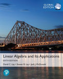 Linear Algebra and Its Applications  Global Edition