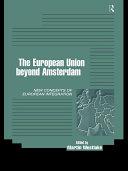 The EU Beyond Amsterdam
