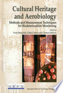 Cultural Heritage and Aerobiology Book