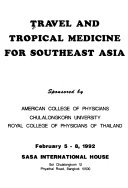 Travel And Tropical Medicine For Southeast Asia Book PDF