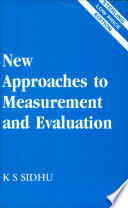 New Approaches To Measurement And Evaluation