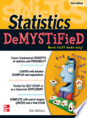 Statistics DeMYSTiFieD  2nd Edition