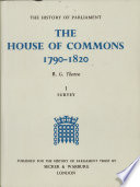 """The House of Commons"" by R. G. Thorne, History of Parliament Trust (Great Britain)"