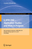 S BPM ONE   Application Studies and Work in Progress