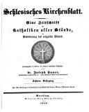 Schlesisches Kirchenblatt