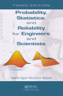 Probability, Statistics, and Reliability for Engineers and Scientists Pdf/ePub eBook