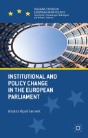 Pdf Institutional and Policy Change in the European Parliament Telecharger