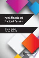 Matrix Methods And Fractional Calculus