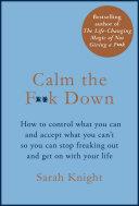 Calm the F**k Down