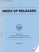 Index of Releases Book