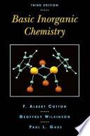 Basic Inorganic Chemistry Book