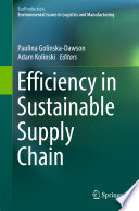 Efficiency in Sustainable Supply Chain Book