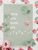 Throw Love Around Like Confetti  Cute Flower Letterboard Notebook Journal for Women and Girls     School Supplies     Personal Diary     O