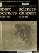 Canadian Journal of Sport Sciences