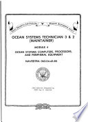 Ocean systems technician 3   2  maintainer