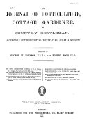 Journal of Horticulture  Cottage Gardener and Country Gentlemen