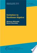 Invitation to Nonlinear Algebra