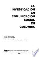 La investigación en comunicación social en Colombia