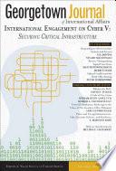 Georgetown Journal of International Affairs Book