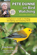 Pdf Pete Dunne on Bird Watching: Second Edition