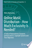 Online Music Distribution   How Much Exclusivity Is Needed