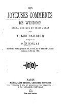 Les joyeuses commères de Windsor