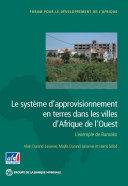 Pdf Le système d'approvisionnement en terres dans les villes d'Afrique de l'Ouest Telecharger
