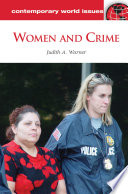 Women and Crime  A Reference Handbook