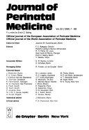 Journal of Perinatal Medicine