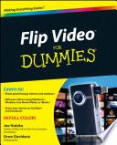 Flip Video For Dummies Book PDF
