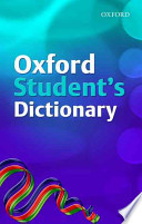 Oxford Student's Dictionary (2007 Edition)