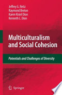 Multiculturalism and Social Cohesion Pdf/ePub eBook