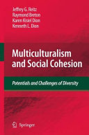 Multiculturalism and Social Cohesion