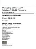 Mcse Exam 70 218 Projects Lab Manual