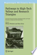 Pathways To High Tech Valleys And Research Triangles