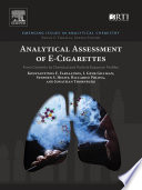 Analytical Assessment of e Cigarettes