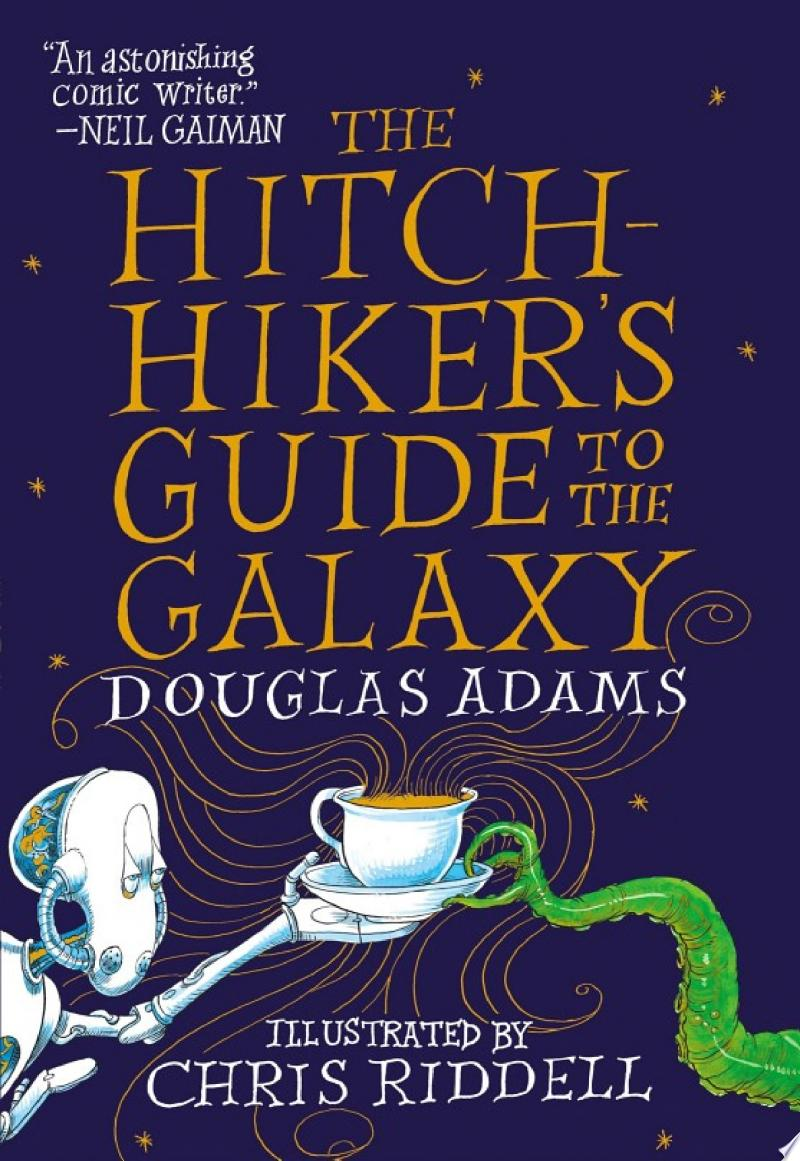 The Hitchhiker's Guide to the Galaxy banner backdrop