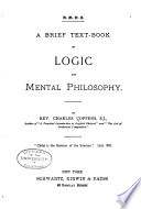 A Brief Text book of Logic and Mental Philosophy