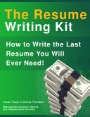 The Resume Writing Kit