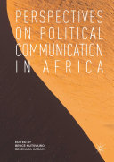 Perspectives on Political Communication in Africa Pdf/ePub eBook