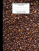 Wide Ruled Composition Notebook 8  5 X 11   120 Pages  Coffee Pattern Cover